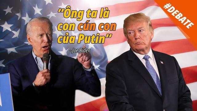 Tranh biện TT Mỹ 2020 [Việt Sub]  Trump Chưa có chính quyền TT nào làm được nhiều hơn tôi