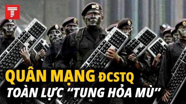 Trung Quốc điều động đội quân mạng khổng lồ bóp méo sự thật