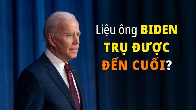 Đếm ngược bầu cử Mỹ Liệu ông Biden có gắng gượng được nốt tuần cuối cùng