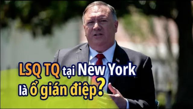 Ông Mike Pompeo cáo buộc lãnh sự quán Trung Quốc ở New York là ổ gián điệp lớn