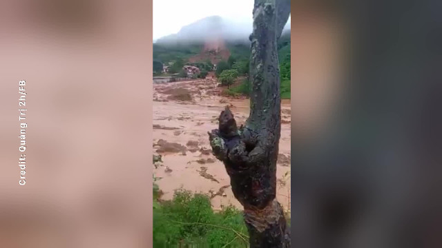 Sạt lở núi tại Quảng Trị: 22 người tại Sư đoàn 337 tử vong