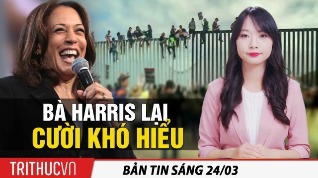 Tin sáng 24/3: Bà Harris lại cười khó hiểu; Hun Sen: Vắc-xin TQ an toàn, nhưng tiêm vắc-xin Ấn Độ