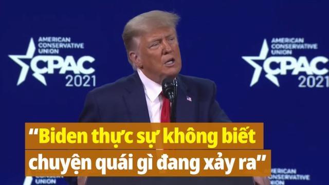 """Ông Trump nói về """"điều kỳ diệu"""" vắc-xin và """"WHO là con rối của Trung Quốc"""""""