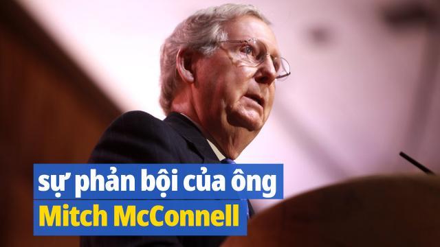 TS. Tạ Điền: Đầm lầy bị phơi bày và sự phản bội của ông Mitch McConnell