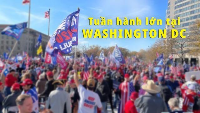 Tuần hành Million MAGA March ở Washington DC