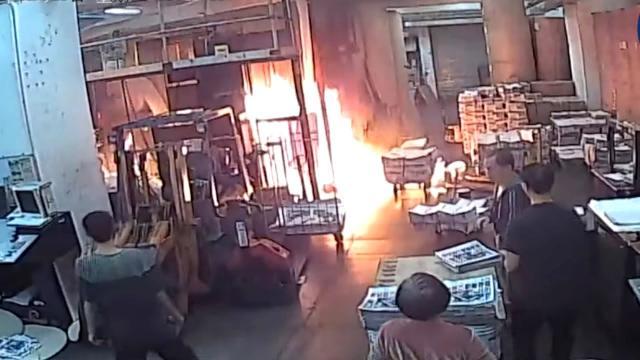 Nhà in của báo Epoch Times Hồng Kông bị phóng hỏa