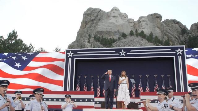 Vì sao ông Trump chọn núi Rushmore để phát biểu mừng Ngày độc lập