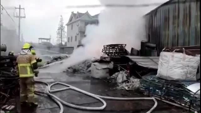 Vụ nổ ở Ninh Ba, Chiết Giang_ Cháy nổ khi cứu hỏa