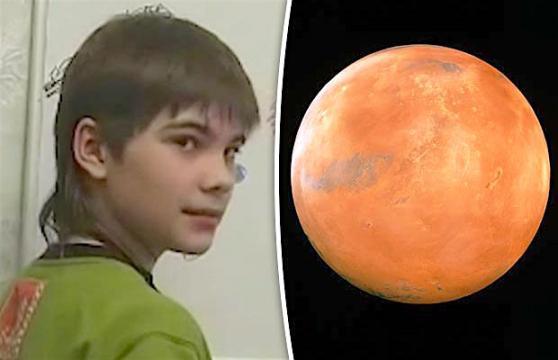 Cậu bé nói từng sống ở Sao Hoả trước khi luân hồi đến Trái Đất