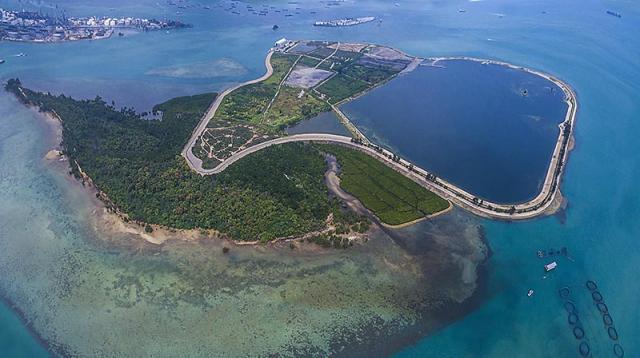 Đảo rác Semakau ở Singapore: Thiên đường xanh được xây trên rác thải