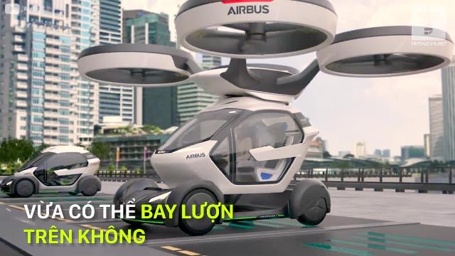 6 chiếc xe bay của tương lai