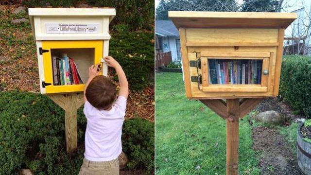 """""""Thư viện nhỏ miễn phí"""" - Ý tưởng nhỏ gắn kết cả cộng đồng"""
