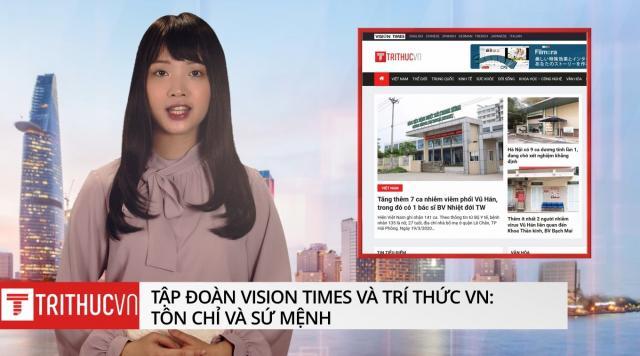 Trí Thức VN thuộc tập đoàn Vision Times: Tôn chỉ và sứ mệnh