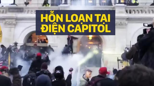 HOA KỲ: DIỄN BIẾN SỰ HỖN LOẠN TẠI ĐIỆN CAPITOL HÔM 6.1.2021