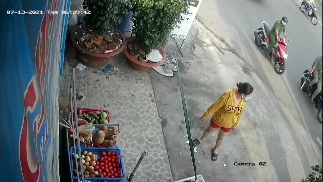 tiệm tạp hóa bán rau củ bị tịch thu