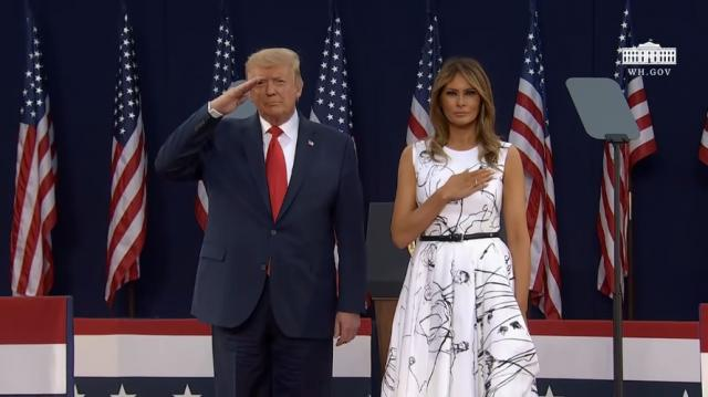 Bài phát biểu Chào nước Mỹ của TT Trump ngày 4/7/2020