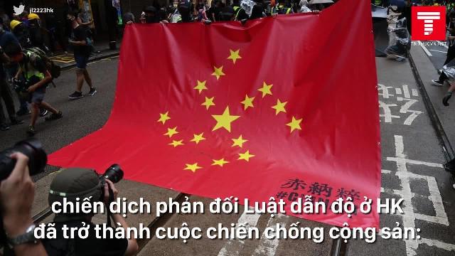 Người biểu tình Hồng Kông chuyển hướng kêu gọi tẩy chay ĐCSTQ