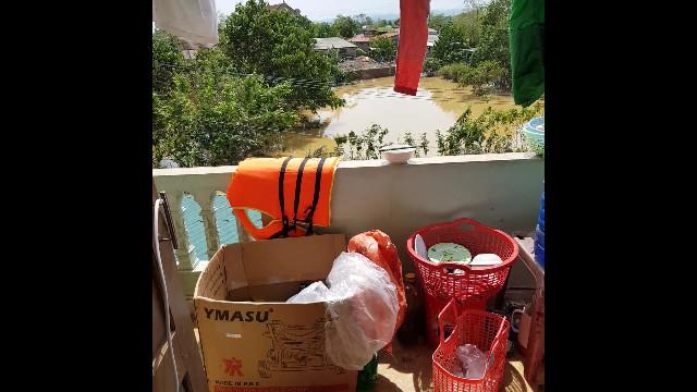 Quảng Bình: Căn nhà hơn 20 người tá túc tránh mưa lũ lịch sử