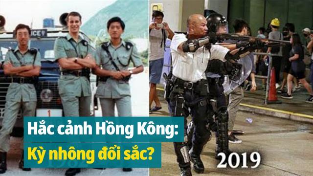 Hắc cảnh Hồng Kông: Kỳ nhông đổi sắc?