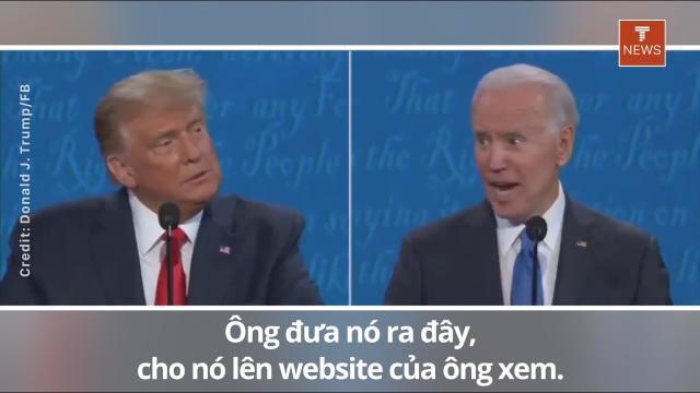 """TT Trump """"THEO YÊU CẦU CỦA ÔNG ĐÂY, JOE"""""""