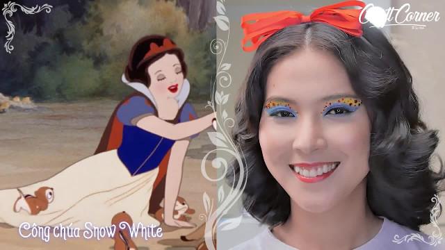 4 kiểu trang điểm mắt đẹp lộng lẫy như công chúa Disney (P1)