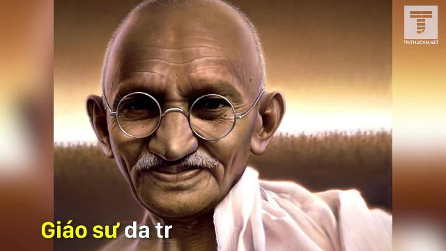 Câu chuyện thú vị về Mahatma Gandhi