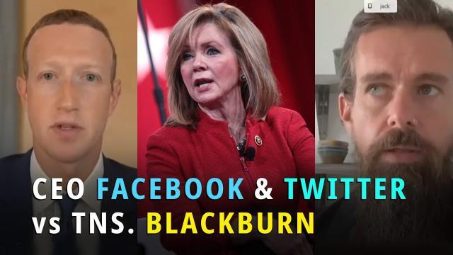[Việt Sub] Chất vấn gay cấn của TNS Blackburn với CEO Facebook và Twitter