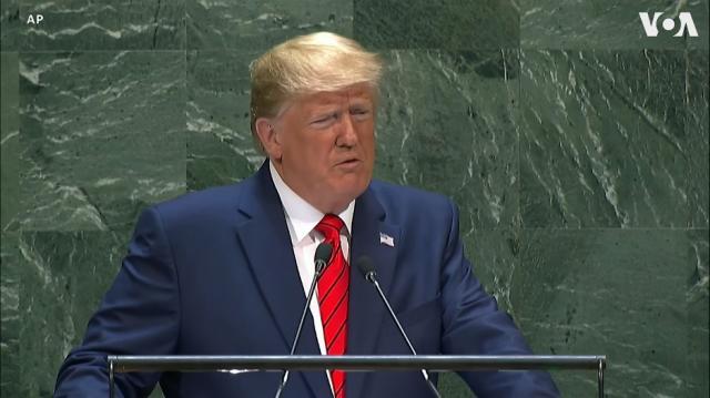 Những phát biểu đáng chú ý của TT Trump tại Liên Hiệp Quốc hôm 249