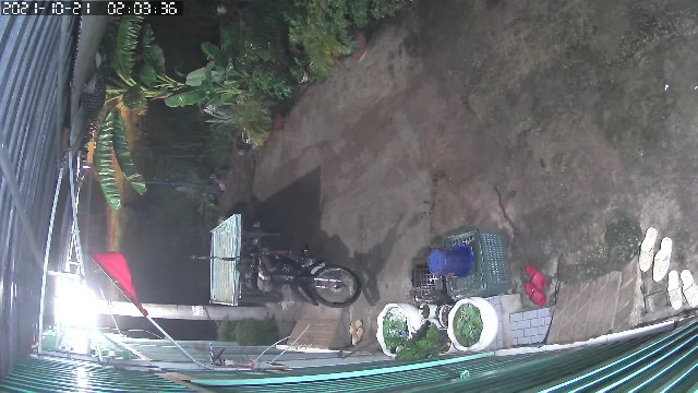 Cận mặt tên trộm lấy xe lôi bán rau ở TPHCM