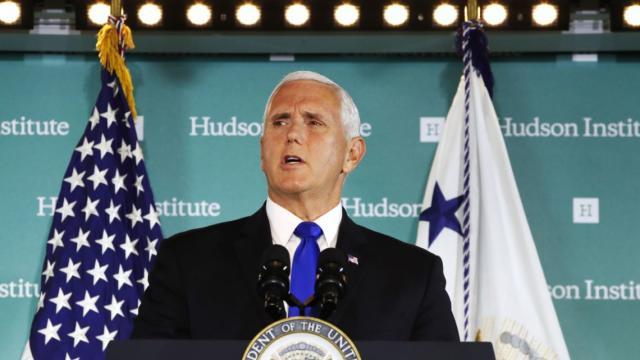 Phó Tổng thống Mike Pence nói về Trung Quốc