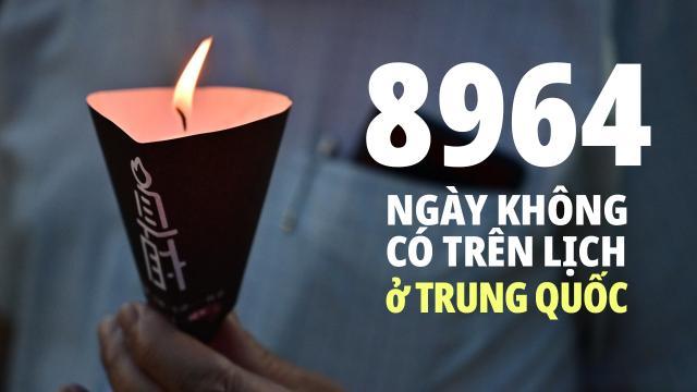 Người HK từ chối quên Lục Tứ dù TQ muốn xóa ký ức. Hồng Kông vượt cấm kỷ niệm 31 năm