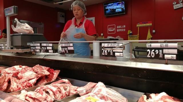 ĐCSTQ sợ thiếu thịt lợn hơn cả thương chiến và biểu tình Hồng Kông?