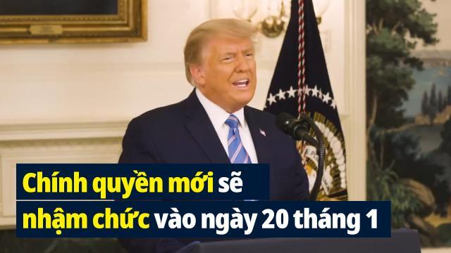 Phát biểu của TT Trump tại Nhà trắng ngày 7/1
