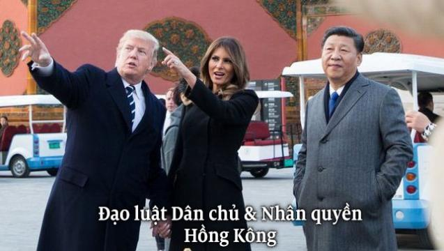 Thông qua Luật Nhân quyền HK: TQ dọa trả đũa – Mỹ tung 'liên hoàn cước'