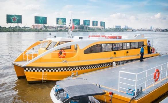 Tp. HCM khai trương tuyến bus đường sông đầu tiên