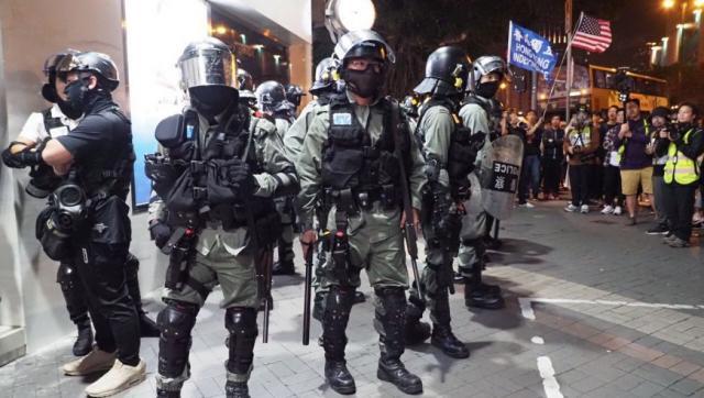 Hồng Kông: Giáng Sinh trong khủng bố, cảnh sát bắt 200 người