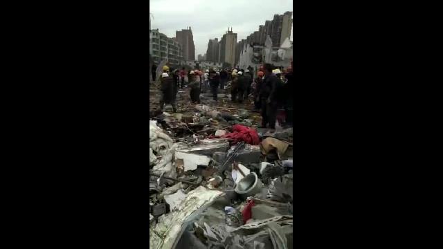 Vụ nổ ở Ninh Ba, Chiết Giang_ Hiện trường vụ nổ (1)