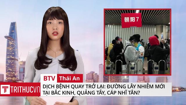 Dịch bệnh quay trở lại: Đường lây nhiễm mới tại Bắc Kinh, Quảng Tây, Cáp Nhĩ Tân?