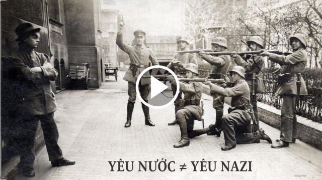Yêu nước không đồng nghĩa với yêu Nazi