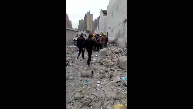 Vụ nổ ở Ninh Ba, Chiết Giang_ Hiện trường vụ nổ (2)