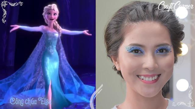 4 kiểu trang điểm mắt đẹp lộng lẫy như công chúa Disney (P2)