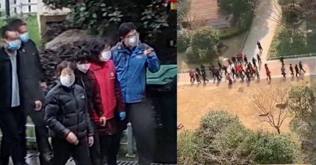 """Video: Người Vũ Hán la hét """"đồ giả"""" khi Phó thủ tướng tới thăm"""