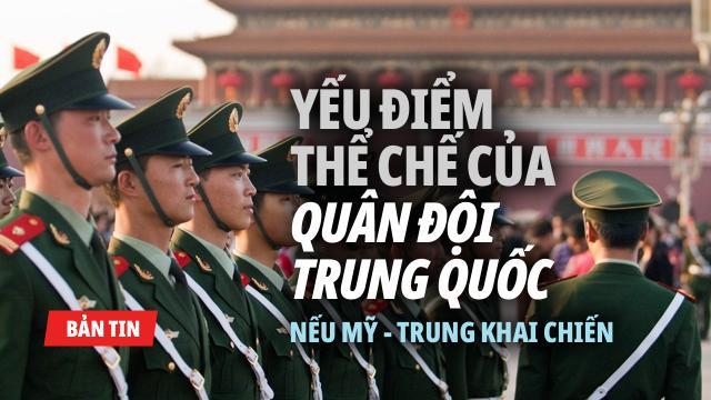 Máy bay quân sự Mỹ bay sát lãnh hải Trung Quốc. Điểm yếu thể chế của quân đội ĐCSTQ