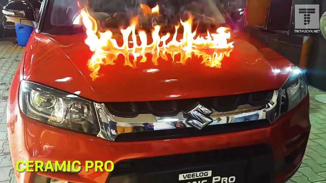 """Công nghệ sơn phủ """"chống đủ thứ"""" cho xe hơi"""