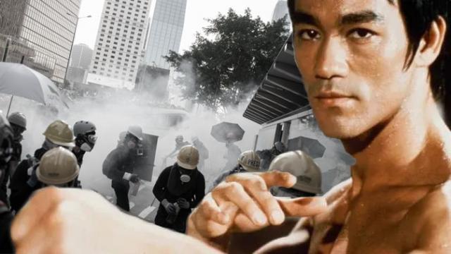 Triết lý 'hãy như nước' của Lý Tiểu Long trong biểu tình Hồng Kông