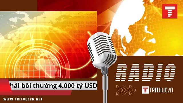 Viện nghiên cứu Anh: Trung Quốc nên phải bồi thường 4.000 tỷ USD