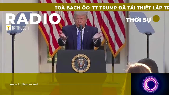 Tòa Bạch Ốc: TT Trump đã tái lập trật tự Mỹ như thế nào?