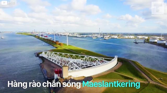 Hàng rào chắn sóng Maeslantkering - nhiệm vụ 'bất khả thi' của Hà Lan