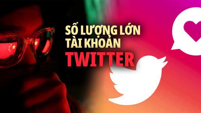 ĐCSTQ dùng lượng lớn tài khoản Twitter tuyên truyền ra nước ngoài