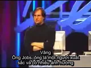 Steve Jobs trả lời thế nào khi bị nhục mạ